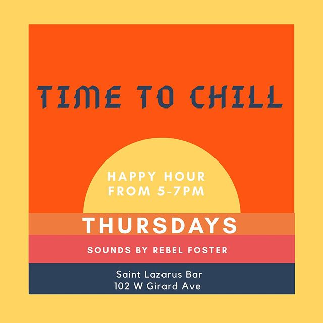 Time to Chill Happy Hour