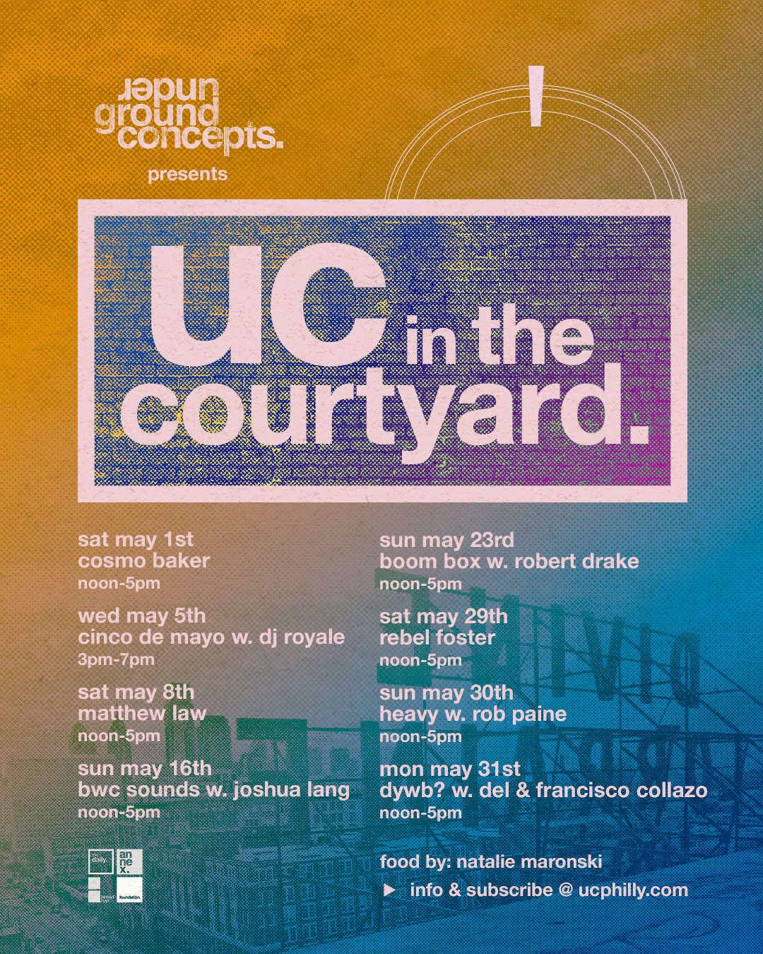 UC in the Courtyard Poster