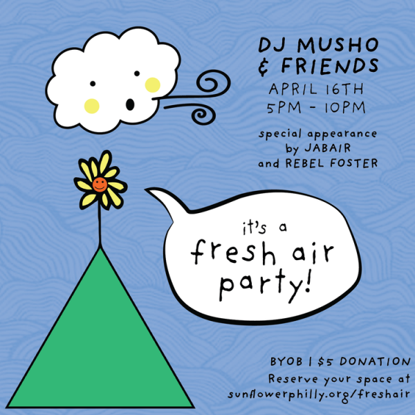 dj musho and friends fresh air party with rebel foster