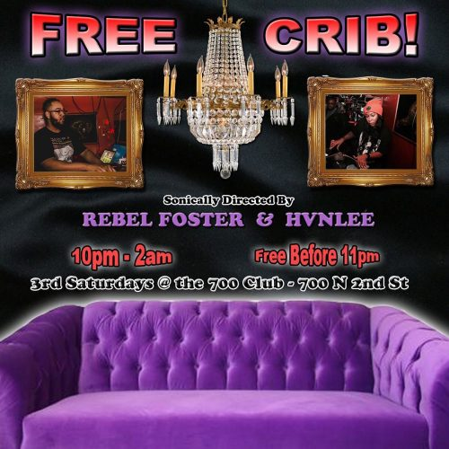 free crib with rebel foster poster